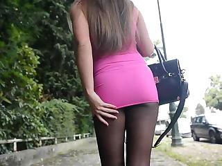 junge teen girls strumpfhosen high heels