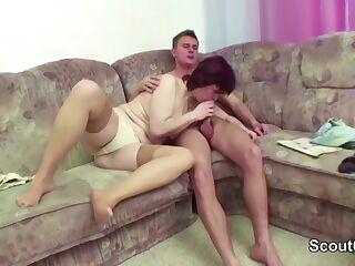 reife mom und boy video